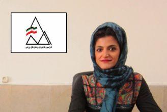 گفتگو چند رسانه ای خانم نسرین عبدالرحیمی از بانوان ورزشکار فعال در رشته های صعودی
