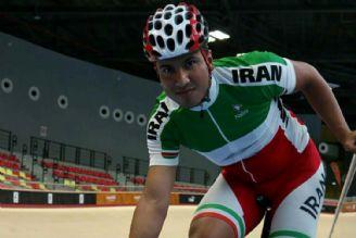 مراسم اهدای مدال برنز محمددانشور ملی پوش دوچرخه سواری قهرمانی آسیا مالزی