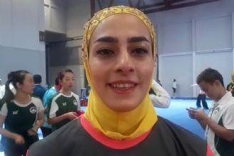 دختران ووشوکار جاکارتا2018: هانیه رجبی