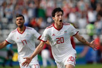 گل دوم ایران مقابل چین  آزمون 31
