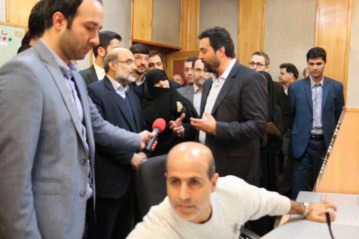 افتتاح رادیو نما رادیو ورزش توسط رئیس سازمان صداوسیما