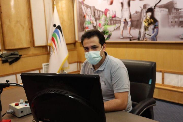 برنامه ورزش ایران وزنه برداری: صدای مرا از پشت ماسک بشنو