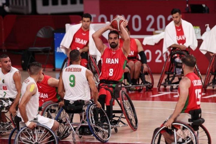 روایت تصویری دیدار تیم ملی بسکتبال با ویلچر ایران برابر الجزایر