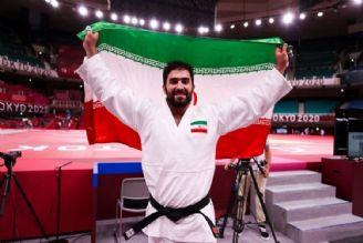 مراسم اهدای مدال طلای جودوی محمدرضاخیرالهزاده