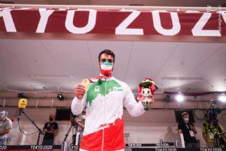 اهدای مدال وحید نوری در پارالمپیک توکیو 2020
