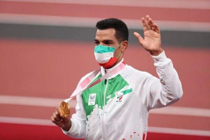 سعید افروز با مدال طلای خود رکورد جهان را شکست