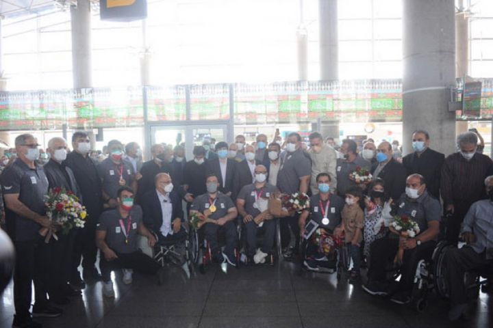 مراسم استقبال از اولین گروه ورزشکاران کاروان سردار دلها
