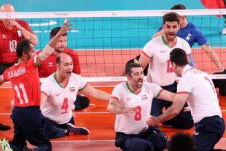 خلاصه بازی افتخارآفرینی مقتدرانه والیبال نشسته ایران در پارالمپیک با غلبه بر روسیه