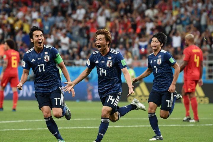 Image result for فوتبال ژاپن بلژیک