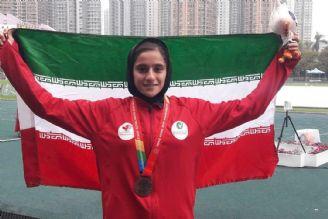 نخستین مدال آسیایی دو و میدانی نوجوانان بر گردن شادکام