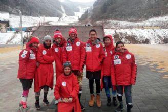 برنز مسابقات اسکی آسیا بر گردن کیادربندسری