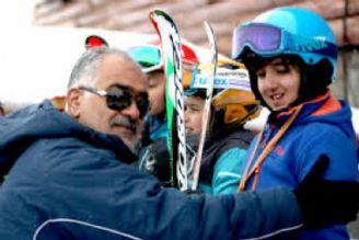 کسب مدال برنز اسکی قهرمانی آسیا توسط شقایق کیادربندسری