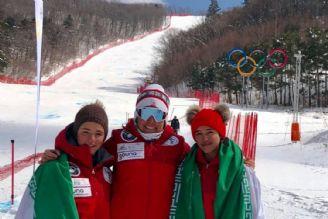 مسابقات اسکی آلپاین قهرمانی نونهالان و نوجوانان آسیا، کره جنوبی  کسب مدال نقره