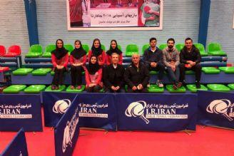 تیم ملی تنیس روی میز به عمان اعزام شد