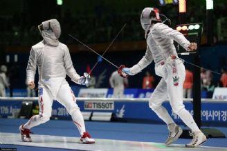 شمشیربازی قهرمانی آسیا؛ سابریستهای ایران فینالیست شدند