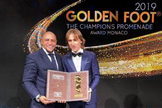 مودریچ دریافت کننده جایزه «پای طلایی» 2019
