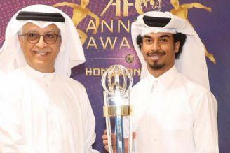 شیخسلمان با سفر به قطر جایزه مرد سال آسیا را تقدیم کرد