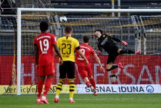 بوندسلیگا آلمان  دورتموند 0 - 1 بایرن مونیخ