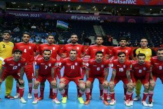پخش مستقیم مرحله یک چهارم نهایی جام جهانی فوتسال؛ ایران - قزاقستان